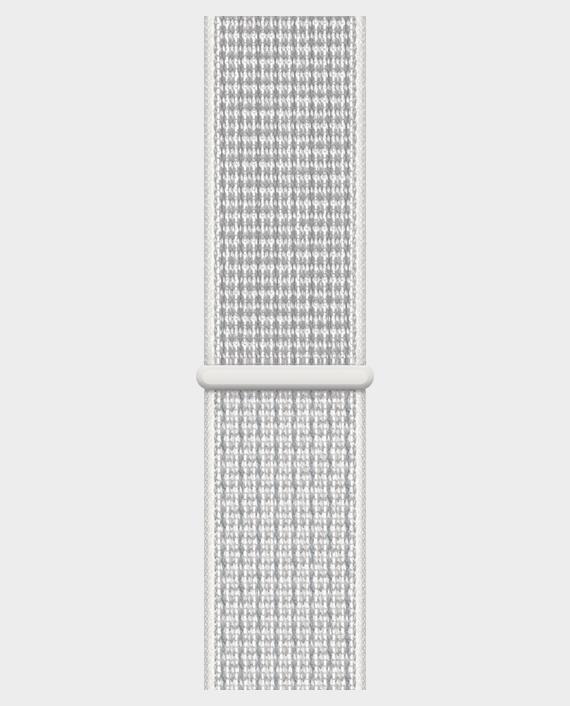 Apple Watch 40mm Summit White Nike Sport Loop in Qatar
