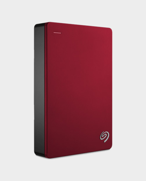 Seagate Backup Plus Portable 5TB External Hard Drive HDD Red in Qatar