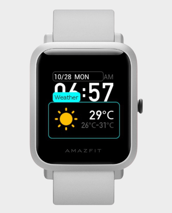 Huami Amazfit Bip S Smart Watch White in Qatar