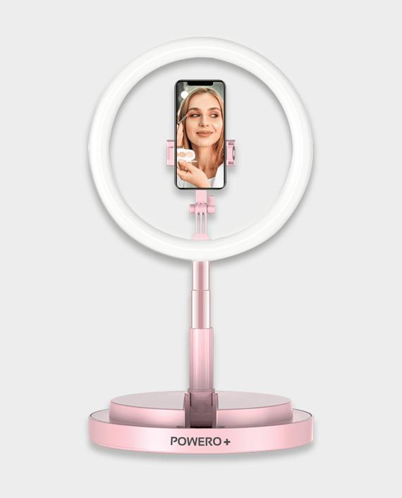 Powero+ Live Beauty Ring Light 10 Inch
