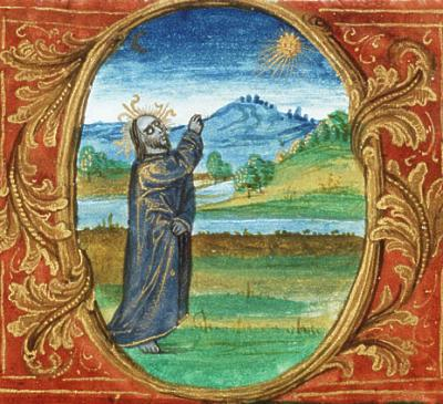 Late medieval sun prayer, courtesy www.renaissanceastrology.com
