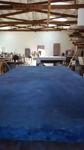 Alan Greenberg blue piece