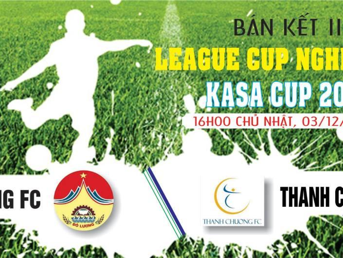 Bán kết 2, League Cup Nghệ Tĩnh – KASA Cup 2017: Đô Lương – Thanh Chương