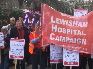 nhs-demo-sat-040317-save-lewisham-hospital-campaigner