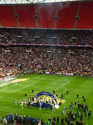 MFC Champions on the pitch 2017