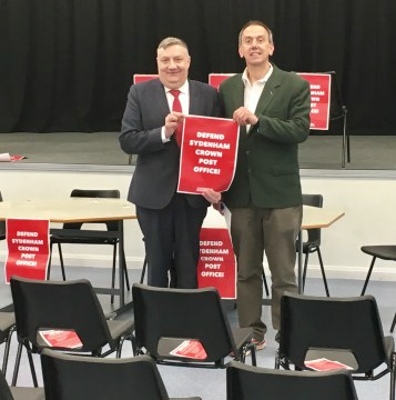 Sydenham Post Office Public Meeting 05 2017 ah lc