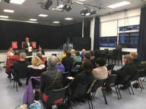 Sydenham Post Office Public Meeting Liam 05 2017