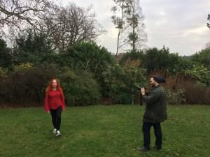 Cllr Sue Hordijenko in Horniman Gardens