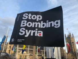 stop bombing syria 04-2018