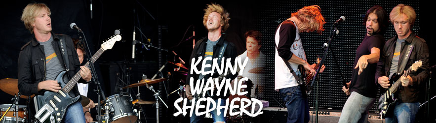Kenny Wayne Shepherd in concert