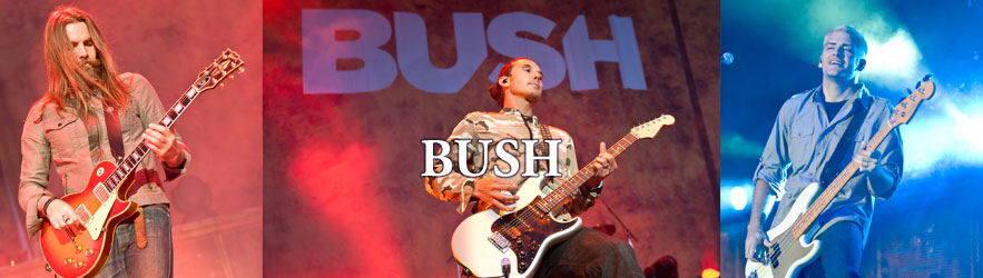 Bush at the 91X X-Fest
