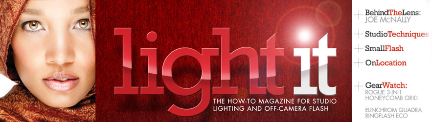 Light It: The new iPad magazine from Kelby Media