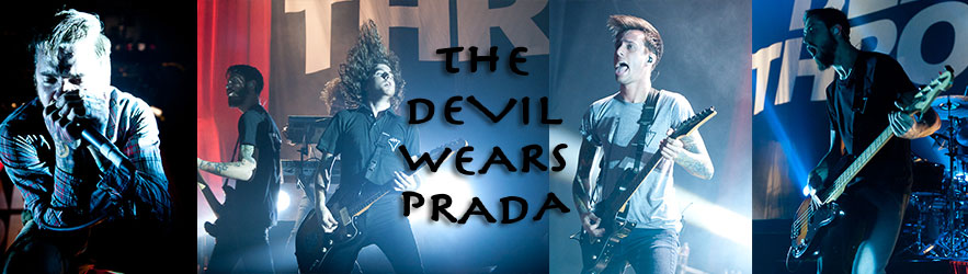 The Devil Wears Prada Concert Shoot