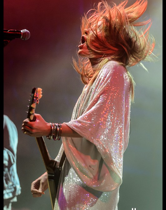 Grace Potter and the Nocturnals: Concert shoot 2013