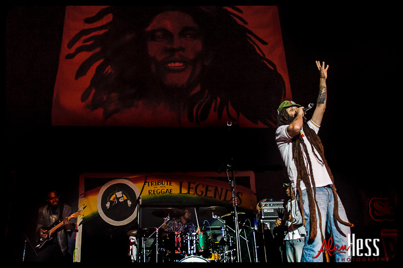 Tribute to the Reggae Legends Festival 2014