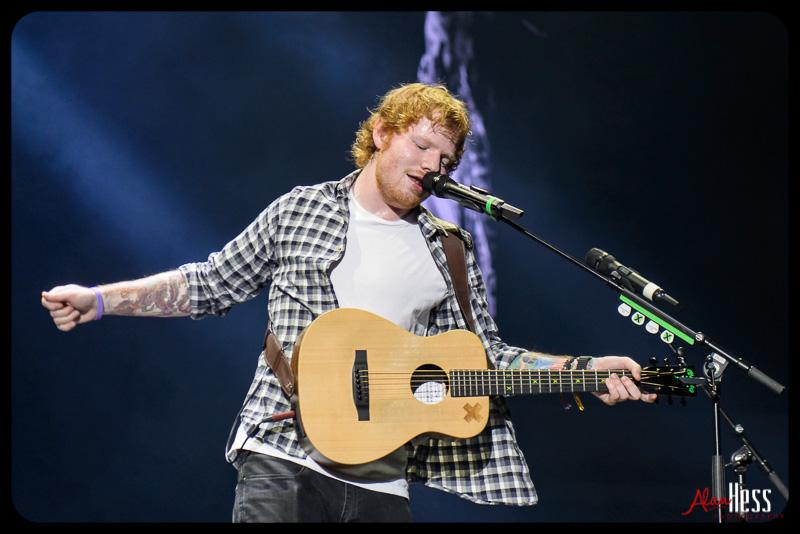 Ed Sheeran – Concert Shoot