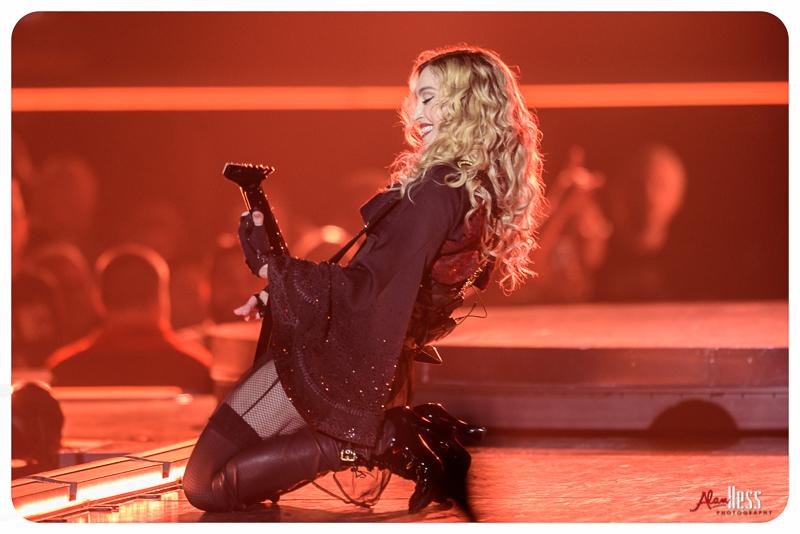 Madonna Concert Shoot