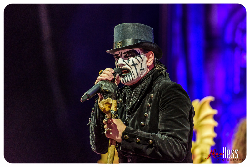 King Diamond performs at the Rockstar Energy Drink Mayhem Festival 2015 at Sleep Train Amphitheatre in Chula Vista - June 26, 2015