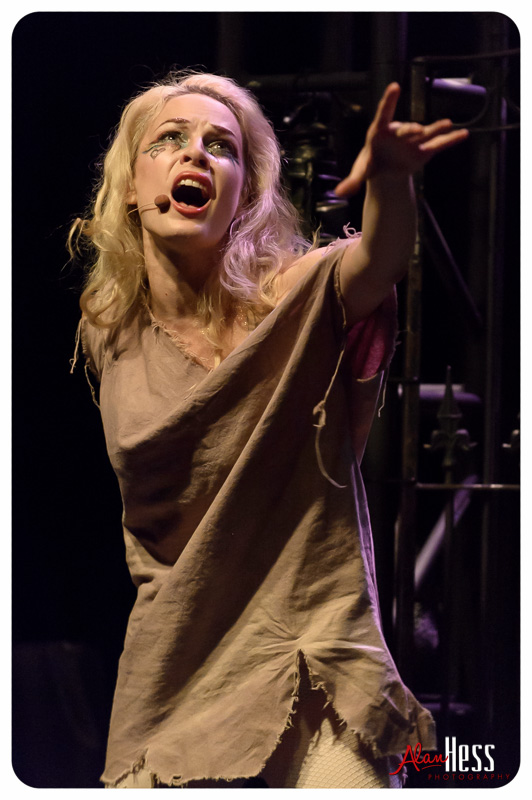 """Emilie Autumn performs on October 2 her """"Fight Like a Girl"""" tour at Porters Pub in San Diego, California"""