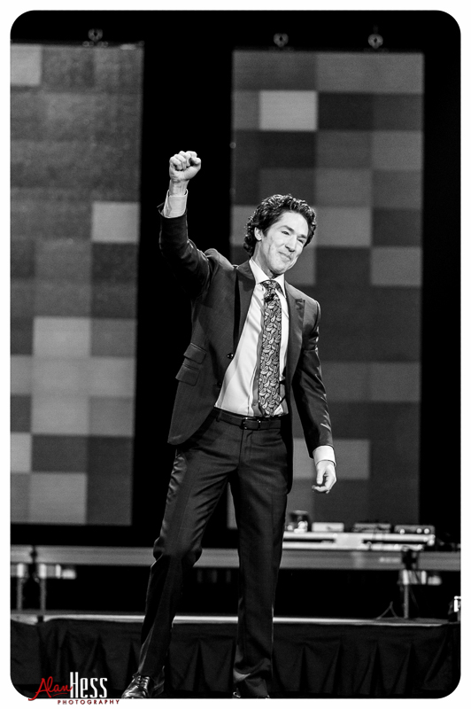 """A Night of Hope"" with Joel and Victoria Osteen at the Valley View Casino Center on January 15, 2016 in San Diego, CA"