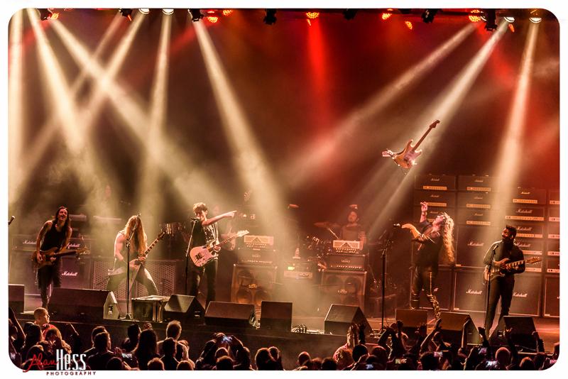 Generation Axe featuring Steve Vai, Yngwie Malmsteen, Zakk Wylde, Nuno Bettencourt, and Tosin Abasi
