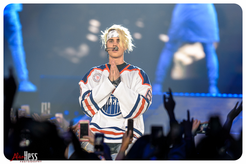 Justin Bieber Concert Shoot 2016