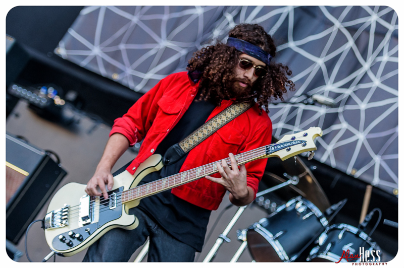 WOLFMOTHER perform at the 91X-Fest on June 5, 2016 at Sleep Train Amphitheatre in Chula Vista, CA