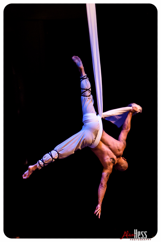 Astraeus Aerial Dance Theatre presents MYTHOS at the Lyceum Theatre during the San Diego Fringe Festival 2016