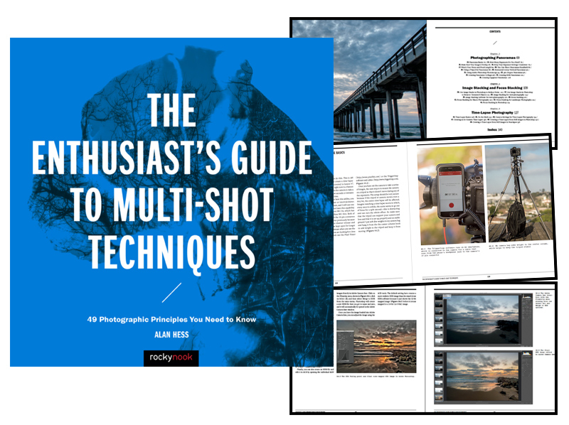 NEW BOOK – The Enthusiasts Guide to Multi-Shot Techniques