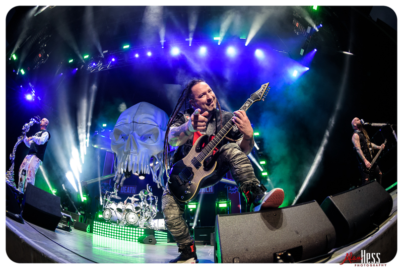 Five Finger Death Punch – Concert shoot