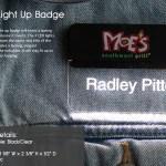 light up name badge