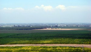California's agriculturally rich but often air-pollution shrouded San Joaquin Valley