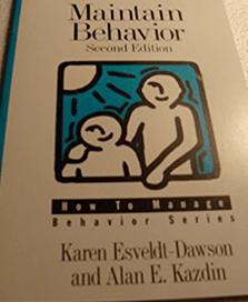 Book - How to Maintain Behavior