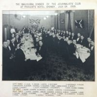 Sydney Journalists Club remembered