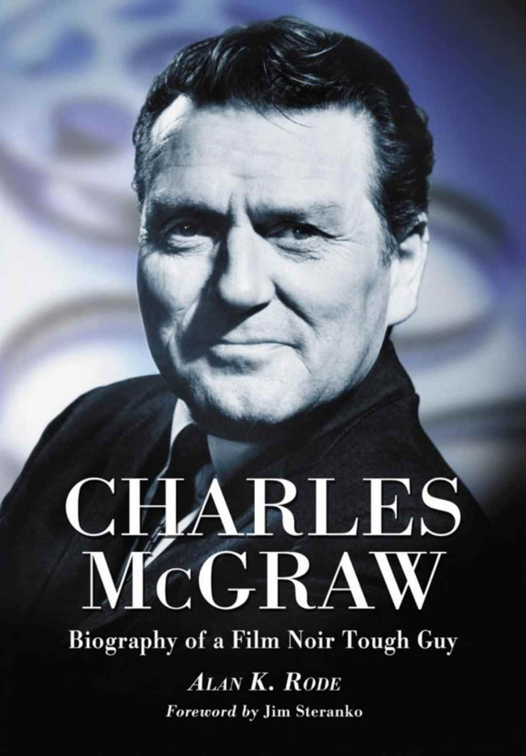 photographic book cover of actor Charles McGraw