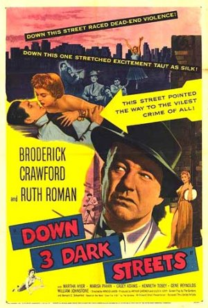 Down Three Dark Streets FilmPoster