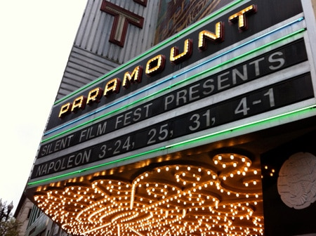 Paramount marquee