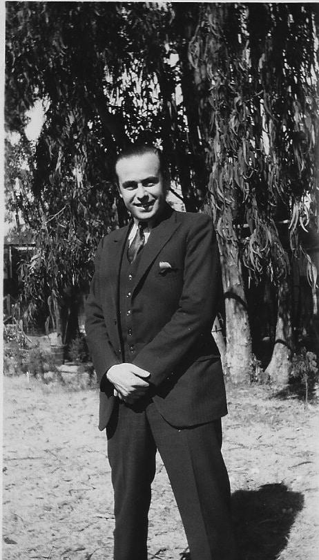 Alfonse in Hollywood circa 1930