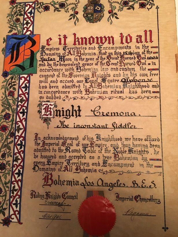 Knight Cremona