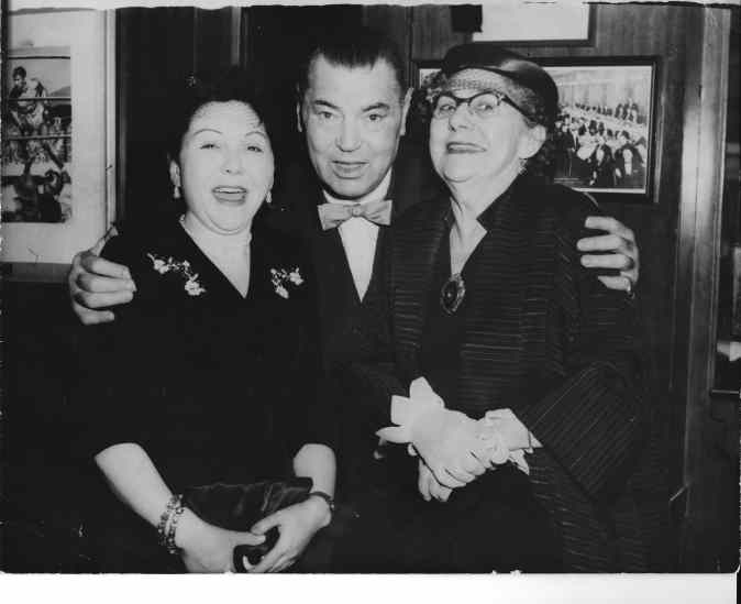Lorraine and Gr-GM with Jack Dempsey