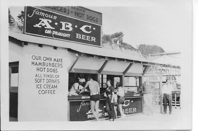 Paul Hill hot dog stand