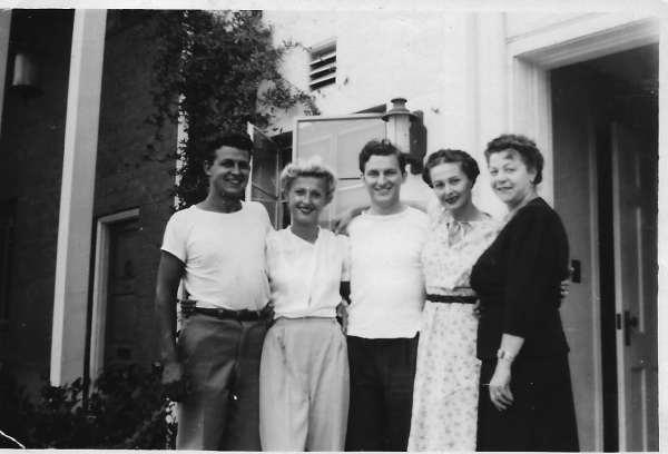 Smitty Paula Erwin Jayne Emmy in 1946