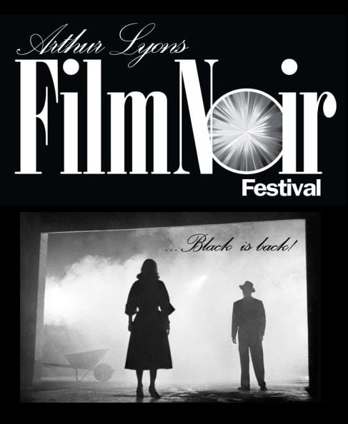 photographic and illustrated art for Arthur Lyons Film Noir Festival 2017