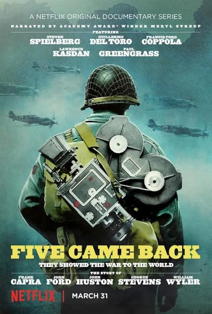 Five Came Back Netflix Docu-series Poster