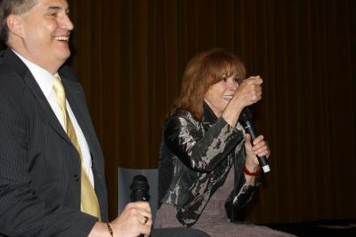 photo of Alan K. Rode and Stefanie Powers
