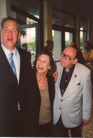 photo of Alan K. Rode, Patty McCormack, and Marvin Page