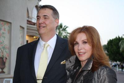 Stefanie Powers and Alan K. Rode