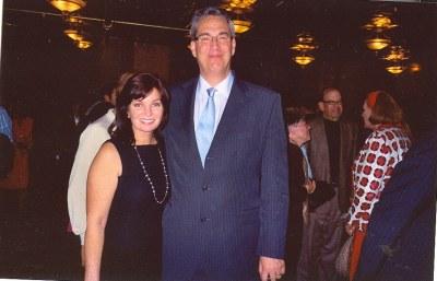 Alan with Ann McNulty