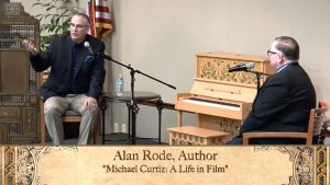 photo of Alan K Rode and George Feltenstein at Buena Vista Library