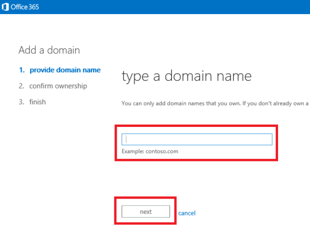 type-in-your-domain